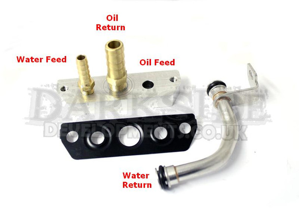 Garrett GTB2260VKLR / GTB2060VKLR Water & Oil Fittings