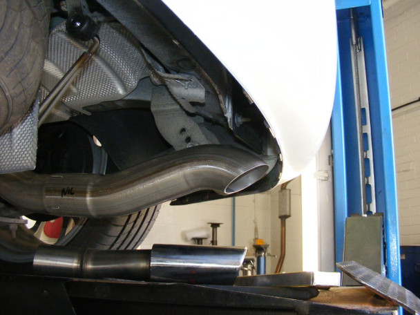 VW Caddy 2K - MK3 / MK4 Milltek Cat-Back Exhaust System 2WD Manual and DSG (not Maxi models)