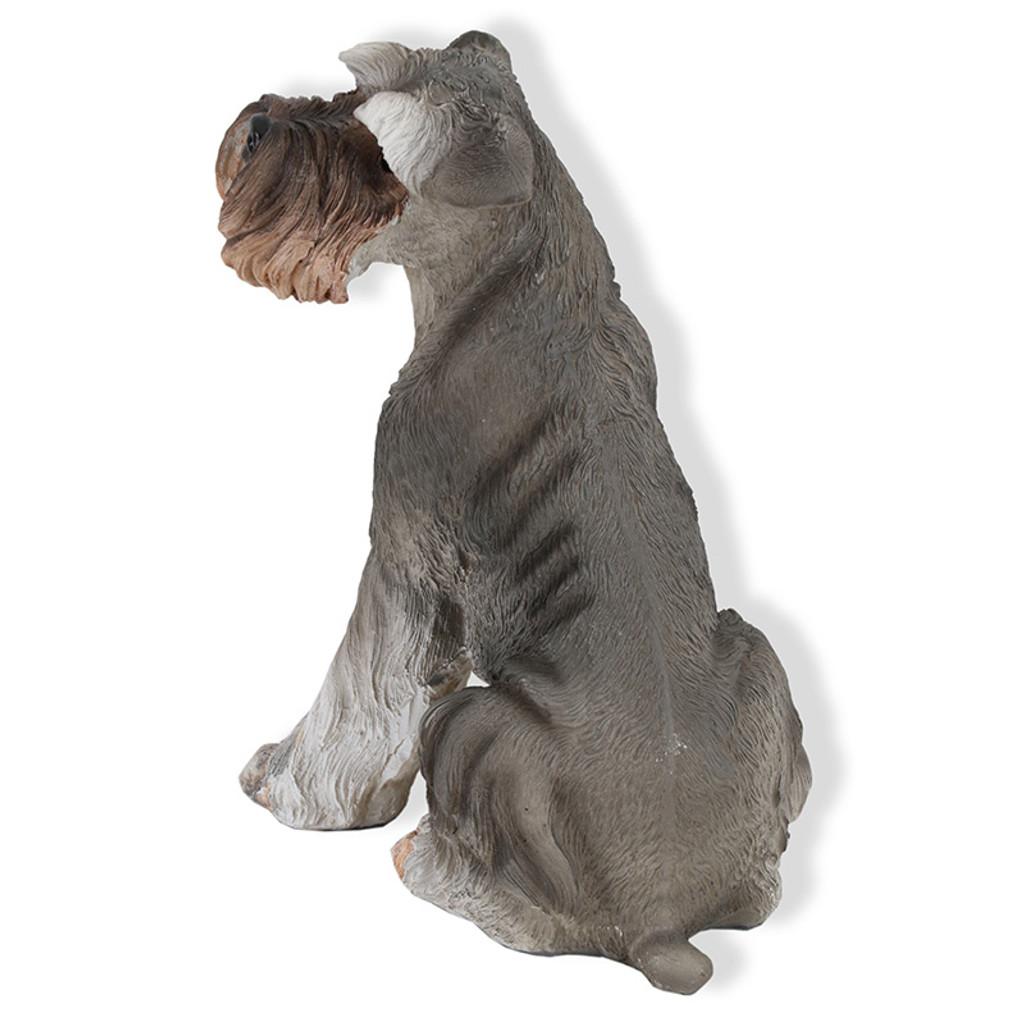 Schnauzer Dog Garden Statue 20cm Schnauzer Dog Garden Statue 20cm ...