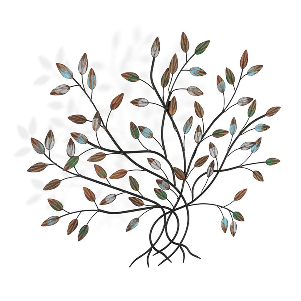 Autumn Tree Metal Wall Art 75cm | Love Home Decor