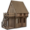 Laser Cut Dollhouse Outdoor Stairs Kit