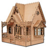 Laser Cut Diana Dollhouse Kit