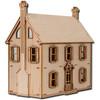 Laser Cut Half Scale Willow Dollhouse Kit