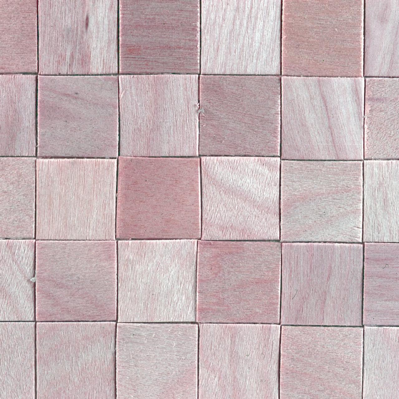 Miniature Dollhouse Tile Flooring: Miniature Scale Floor Tiles Wood