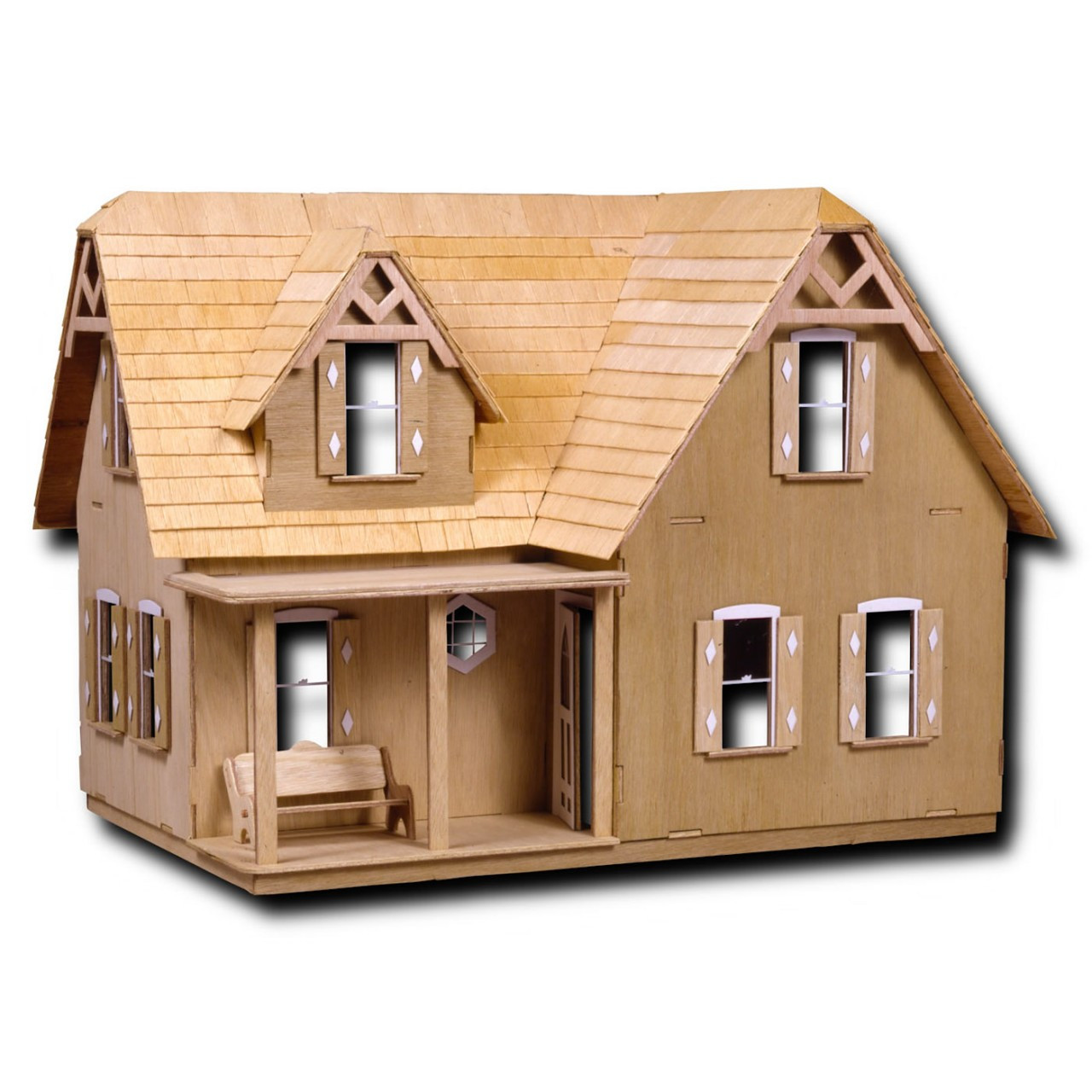 The country dollhouse kit for Country home kits