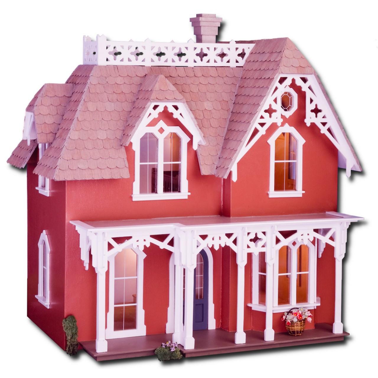 Laser Cut Chantilly Dollhouse Kit