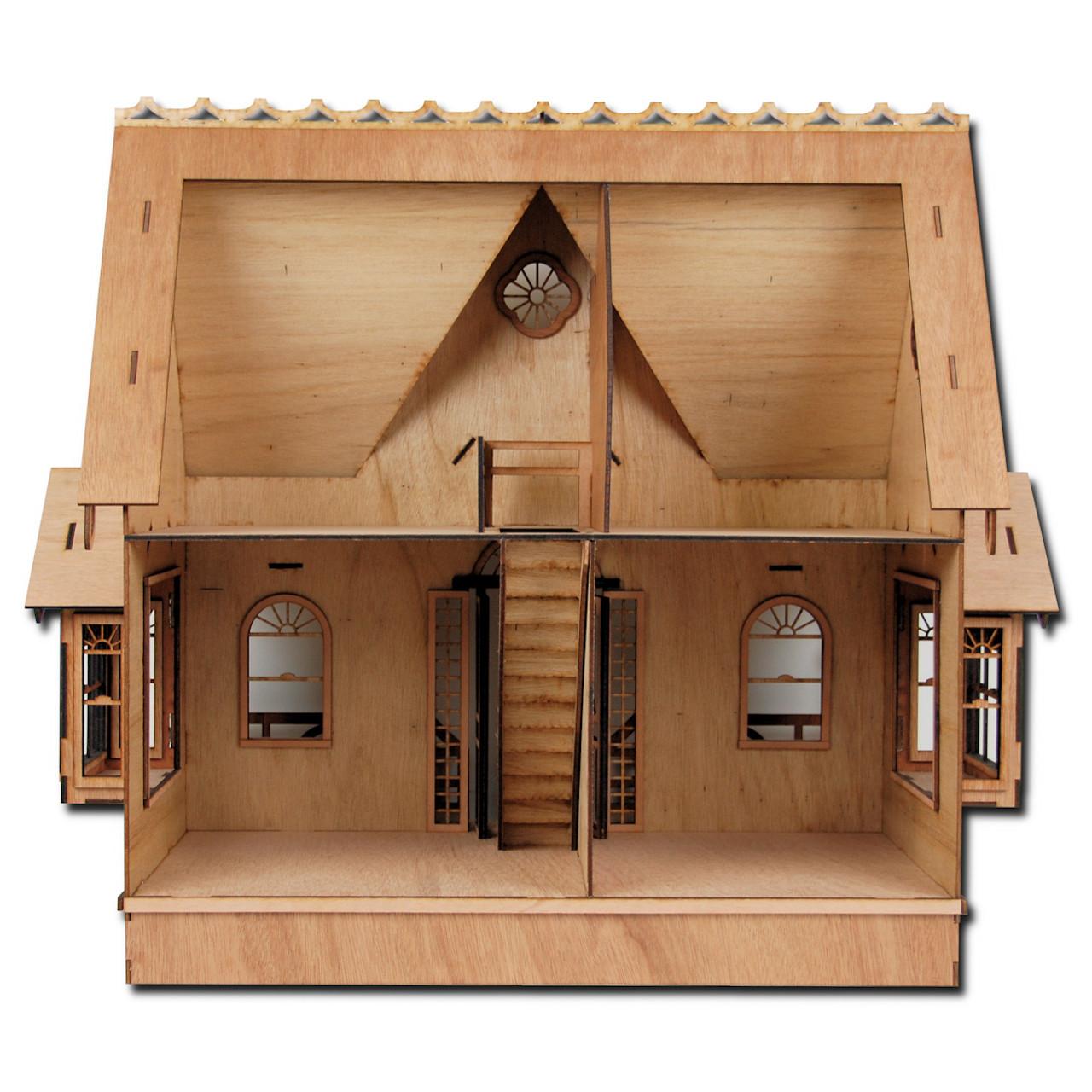 Laser Cut Diana Dollhouse Kit