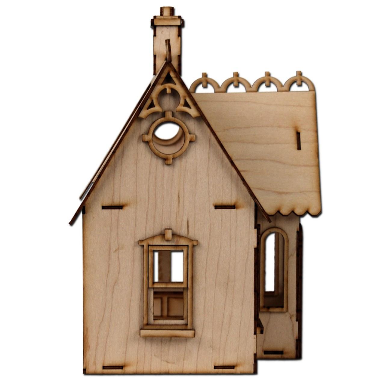 Laser Cut Half Scale Buttercup Dollhouse Kit