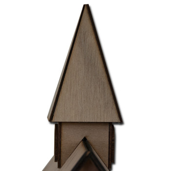 Laser Cut Dollhouse Cupola Kit