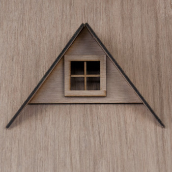 Laser Cut Dollhouse Dormer Kit