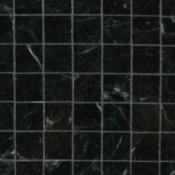 Miniature Scale Vinyl Floor Tiles Black