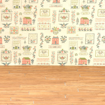Miniature Scale Vinyl Hardwood Flooring Oak