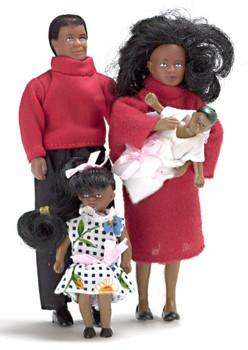 Dollhouse Doll Modern Family African American