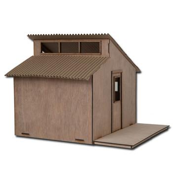 Dollhouse Wood Deck