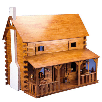 The Creekside Cabin Dollhouse Kit