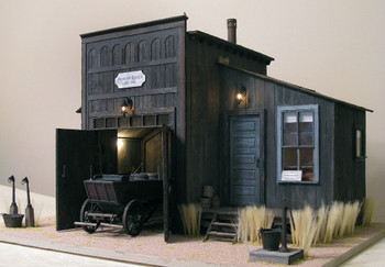 Baslow Ranch laser Cut Dollhouse Kit