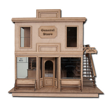 Laser Cut Taft General Store Dollhouse Kit