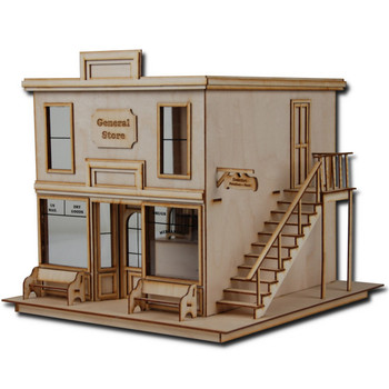 Laser Cut Half Scale Taft General Store Dollhouse Kit