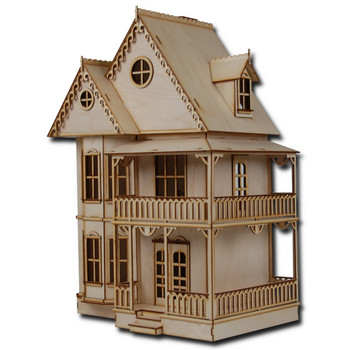 Laser Cut Half Scale Tennyson Dollhouse Kit