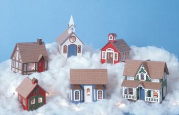 Miniature Greenleaf Village Kit