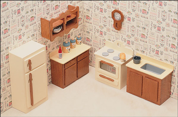 dollhouse kitchen furniture. Simple Furniture In Dollhouse Kitchen Furniture Greenleaf Dollhouses