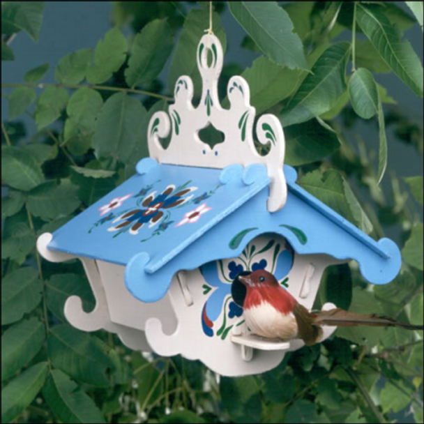 Lodge Birdhouse
