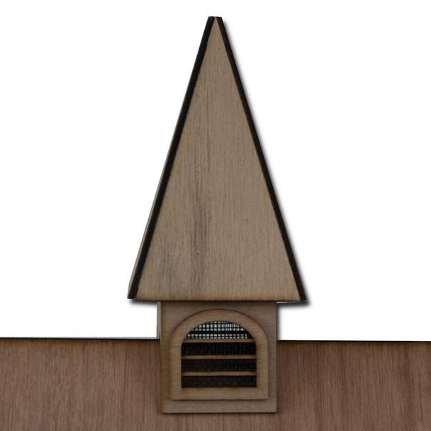 Laser Cut Dollhouse Cupola Kit
