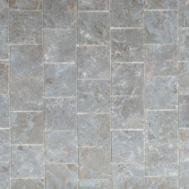Miniature Scale Vinyl Floor Tiles Grey