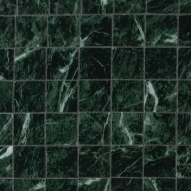 Miniature Scale Vinyl Floor Tiles Green