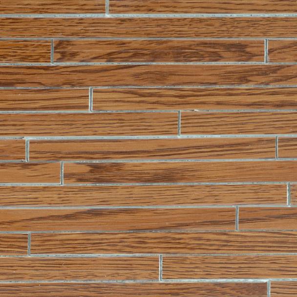 Miniature Scale Vinyl Hardwood Flooring Walnut