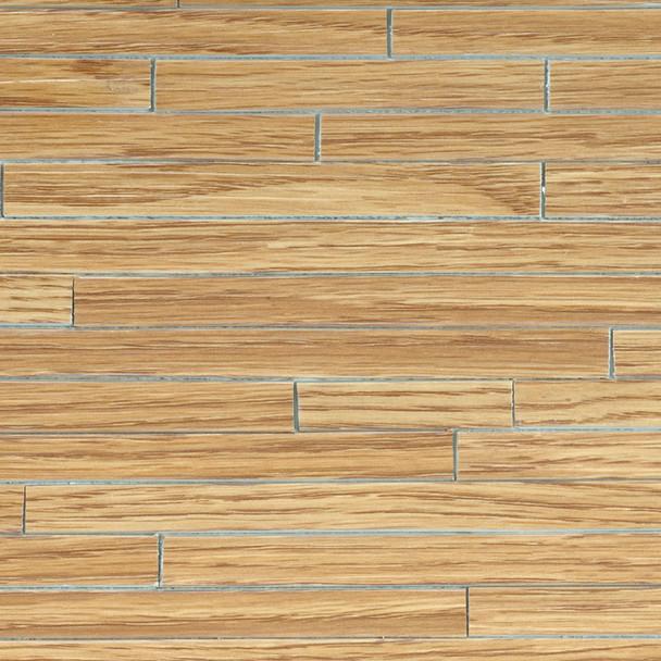 Miniature Scale Vinyl Hardwood Flooring Oak