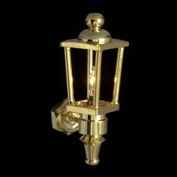 Dollhouse Wall Lights - Carriage Lamp