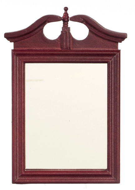 Dollhouse Mahogany Wall Mirror