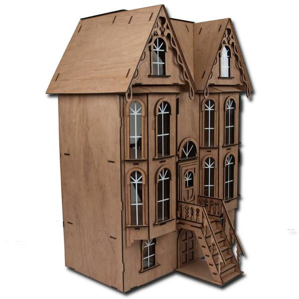 Emerson Row Dollhouse Kit Laser Cut