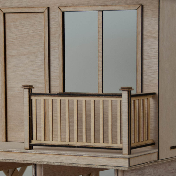 Dollhouse Deck Railings