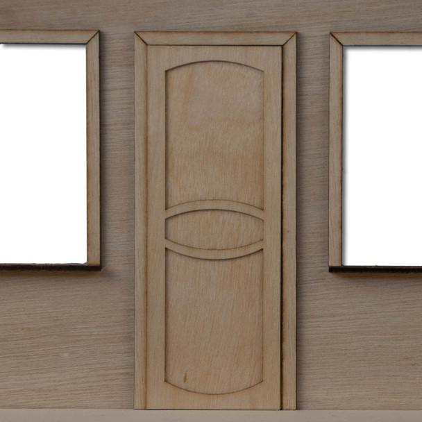 Fancy Dollhouse Door