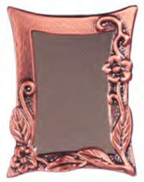 Dollhouse Antique Copper Wall Mirror