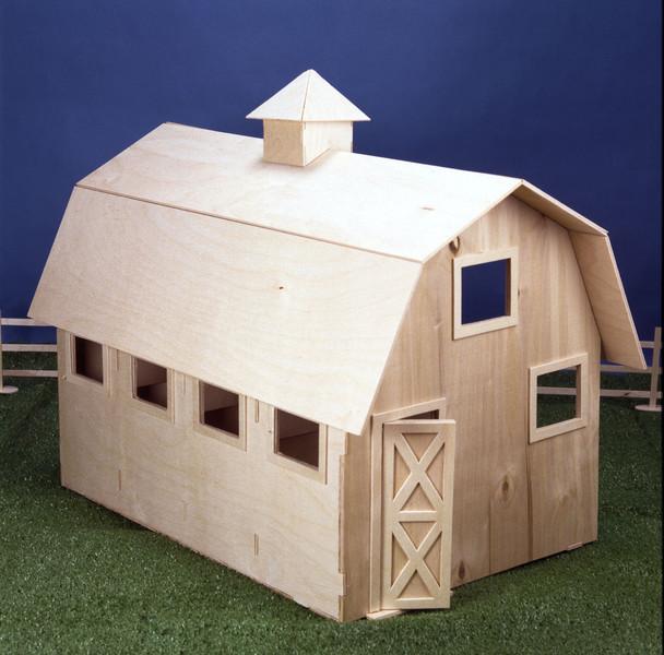 Wildwood Stable Dollhouse Kit