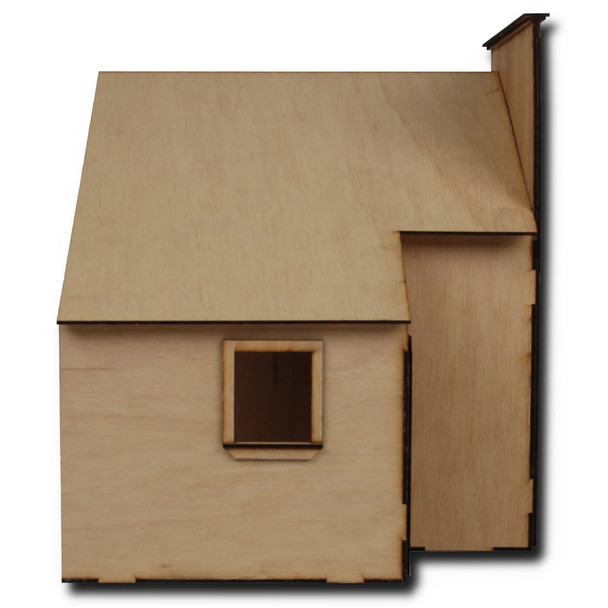 Baslow Ranch laser Cut Dollhouse Kit