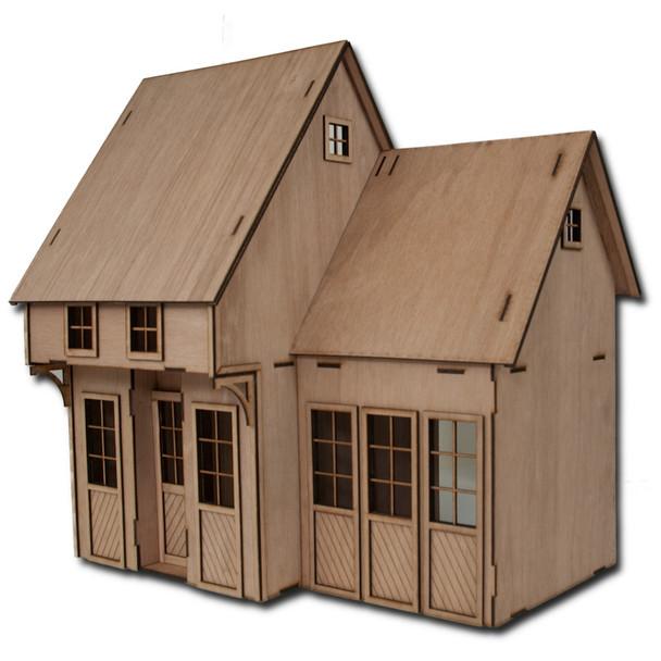 Laser Cut Contest Kit Addtion One Dollhouse Kit