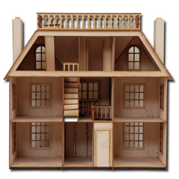 Laser Cut Half Scale Van Buren Dollhouse Kit