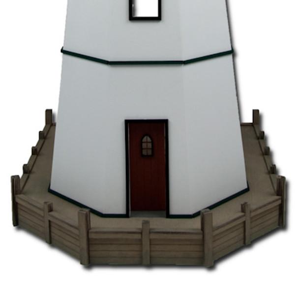 Harbor Island Lighthouse Base Dollhouse Kit