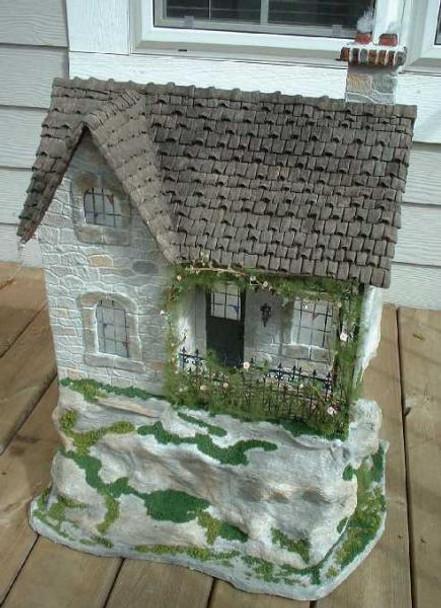 Haunted House Dollhouse Kit