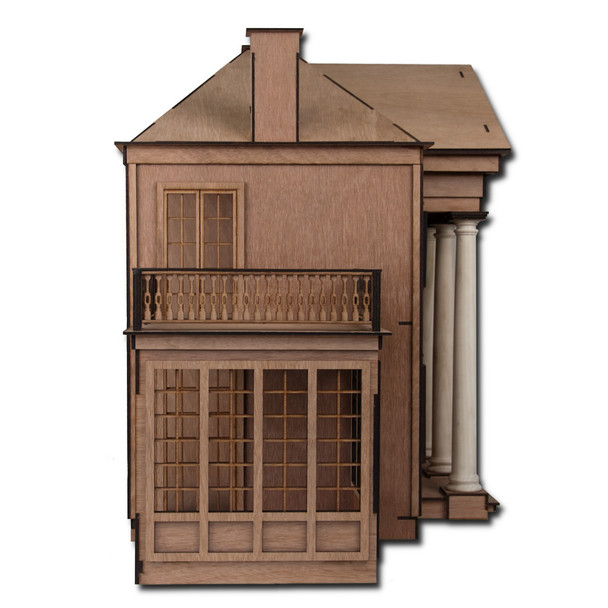 Laser Cut Beaumont Dollhouse Kit