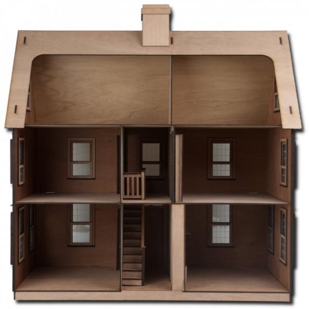 Laser Cut Jefferson Dollhouse Kit