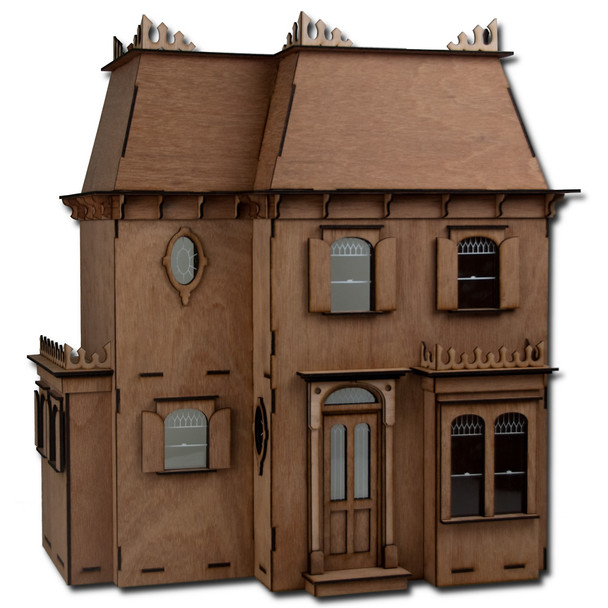 Laser Cut Rosedale Dollhouse Kit