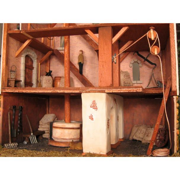 Loganberry Mill Dollhouse Kit