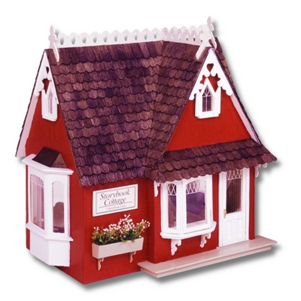 Storybook Cottage Dollhouse Kit