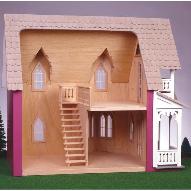 Vineyard Cottage Dollhouse Kit