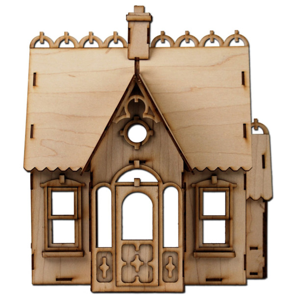 Laser Cut Half Scale Buttercup Dollhouse Kit